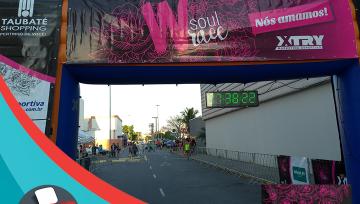 WSoul Race Corrida Feminina com 5km e 10km