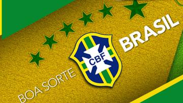 Boa sorte BRASIL! Brasil e México