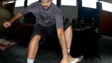Competição de skate atletas internacionais em Taubaté
