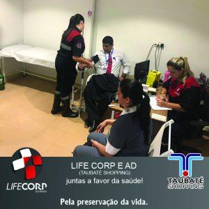2 300x300 - Dia Mundial da Saúde! LIFE CORP E AD (TAUBATÉ SHOPPING)