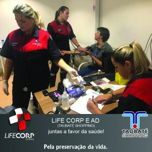 3 300x300 - Dia Mundial da Saúde! LIFE CORP E AD (TAUBATÉ SHOPPING)