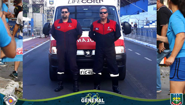 "gs - XXXIV CORRIDA PEDESTRE DO 5.ºBPM/I ""GENERAL JÚLIO MARCONDES SALGADO"